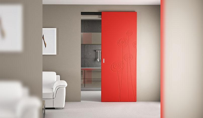 Плъзгащи интериорни врати
