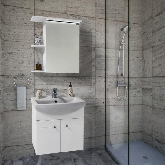 Шкафове за баня от пвц